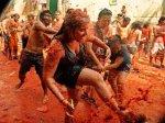 В Колумбии прошли томатные бои