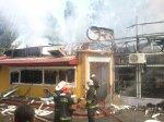 В Виннице горели магазины