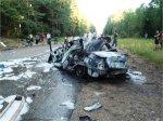 В ДТП под Псковом пострадали восемь украинцев