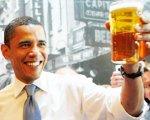 Обама варит пиво собственного производства