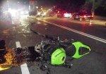 ГАИ сообщила о ДТП, в которых пострадали трое мотоциклистов