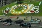 Цветочные часы в центре Киева изменили дизайн