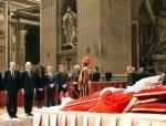 Ампула с кровью покойного Папы Римского была похищена