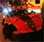 В центре Киева разбился эксклюзивный Ferrari стоимостью $ 500 тысяч